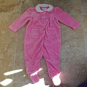 Ralph Lauren velour one piece size 3m